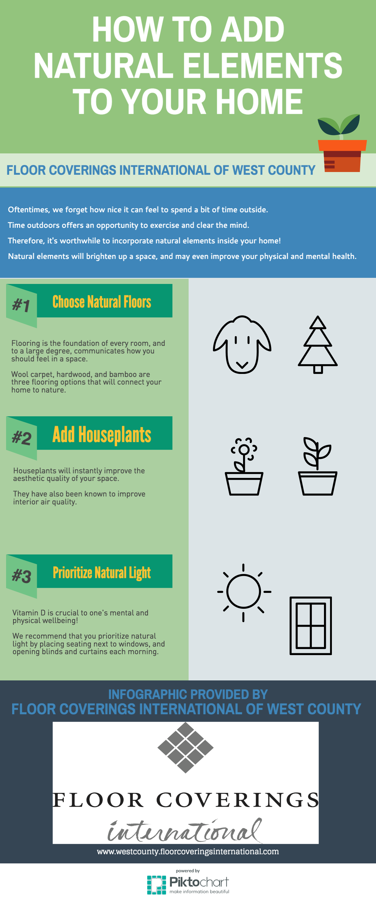 How to Add Natural Elements to Your Home